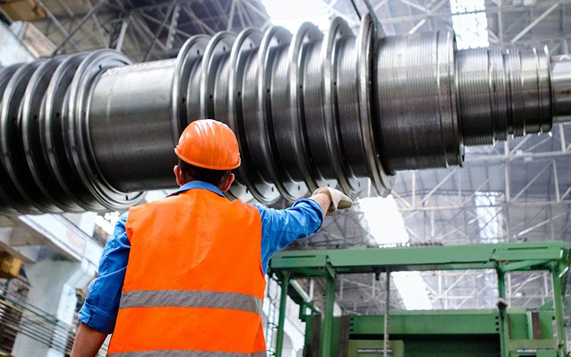 Modern machinery and advanced processes