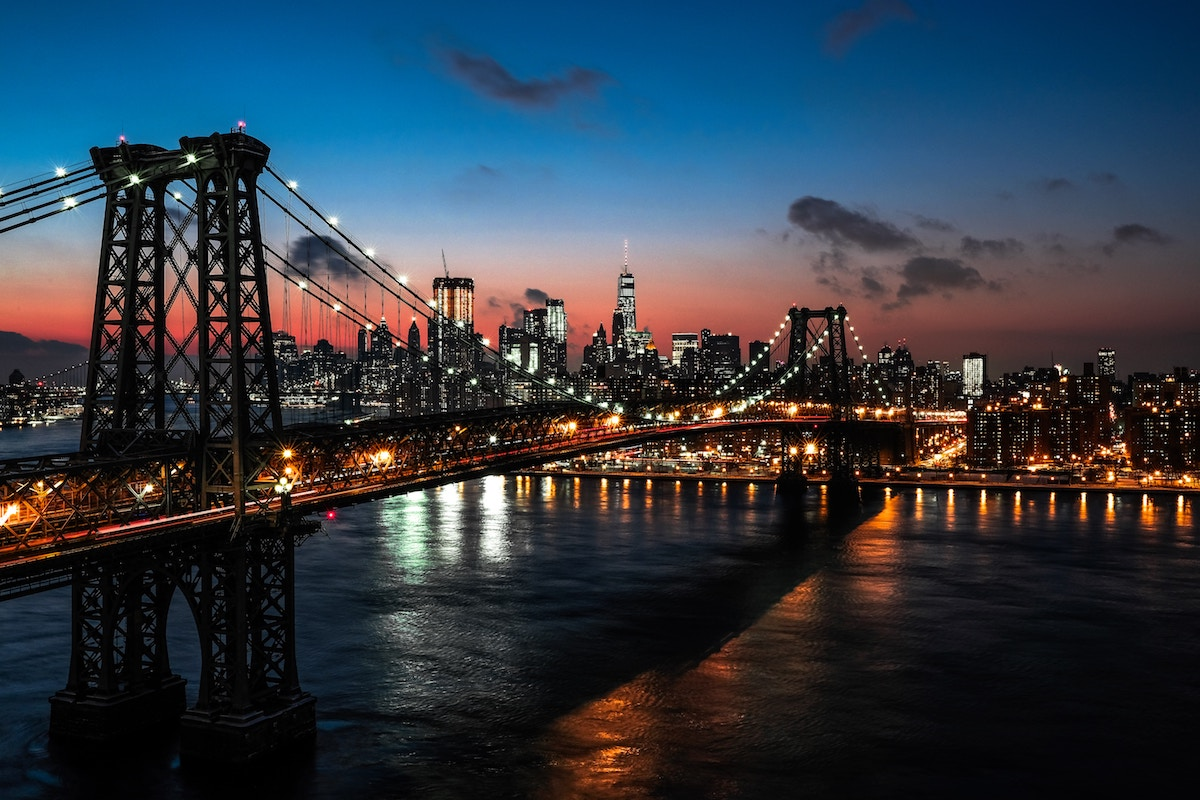 Inside the city New York