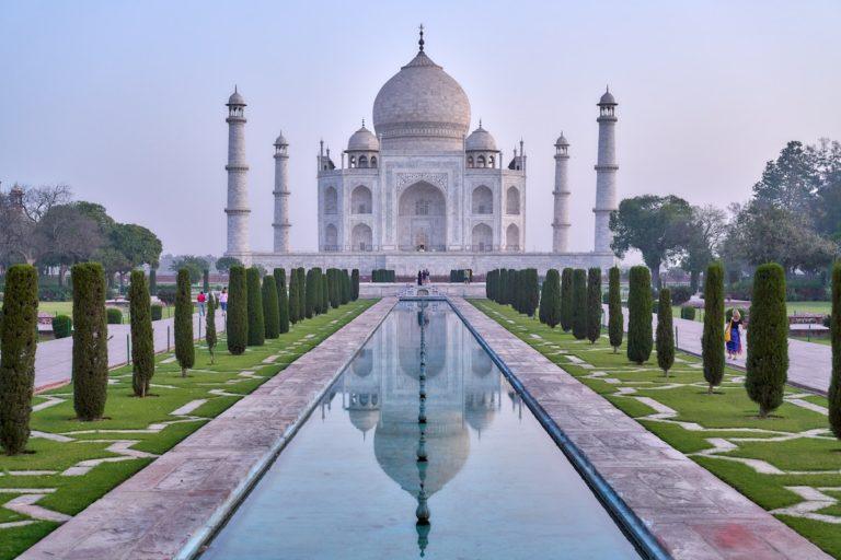 The Beauty of Taj in India