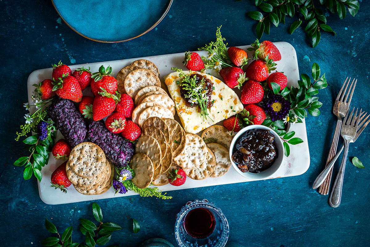 Strawberry Cookie Dessert